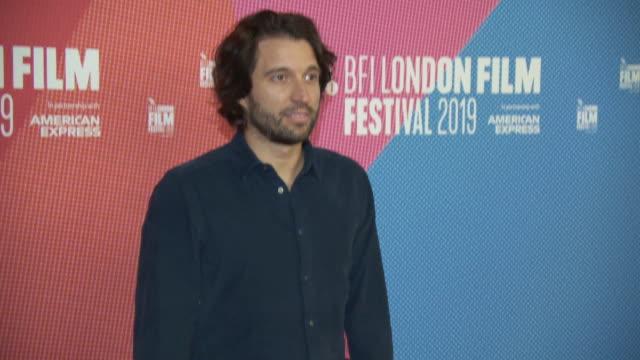 alejandro landes at bfi london film festival awards on october 12 2019 in london england - the times bfi london film festival stock videos & royalty-free footage