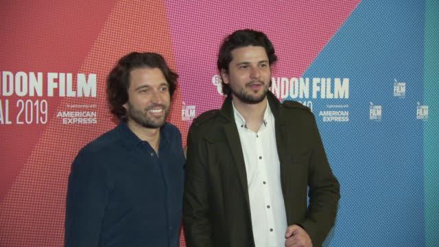 alejandro landes santiago a zapata at bfi london film festival awards on october 12 2019 in london england - the times bfi london film festival stock videos & royalty-free footage