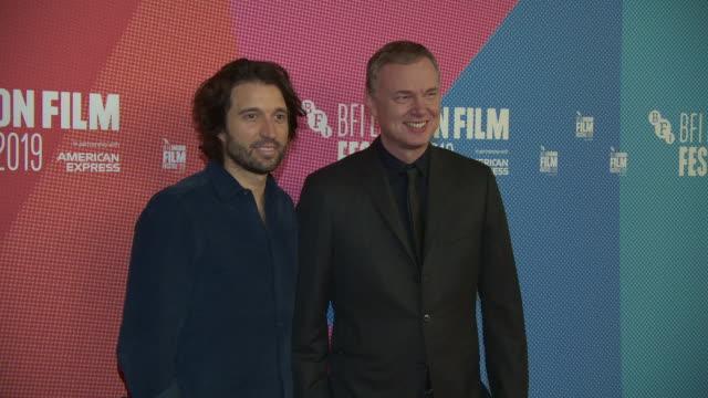 alejandro landes wash westmoreland at bfi london film festival awards on october 12 2019 in london england - the times bfi london film festival stock videos & royalty-free footage