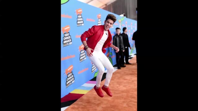 alejo igoa attends nickelodeon's 2018 kids' choice awards at the forum on march 24 2018 in inglewood california - 31st annual nickelodeon kids' choice awards stock videos and b-roll footage