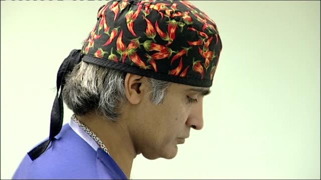 Alert over Frenchmade breast implants Birmingham Vik Vijh washing his hands Vik Vijh interview SOT