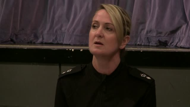 Teenage boy arrested SCOTLAND Isle of Bute INT Chief Supt Hazel Hendren press conference SOT