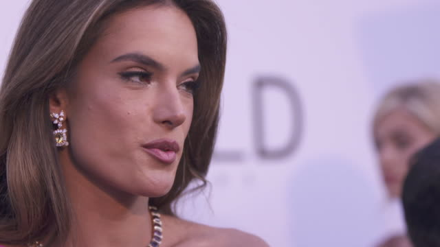 SLOMO Alessandra Ambrosio at amfAR Gala Cannes 2018 at Hotel du CapEdenRoc on May 17 2018 in Cap d'Antibes France