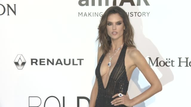 Alessandra Ambrosio at amfAR's 23rd Cinema Against AIDS Gala Arrivals at Hotel du CapEdenRoc on May 19 2016 in Cap d'Antibes France
