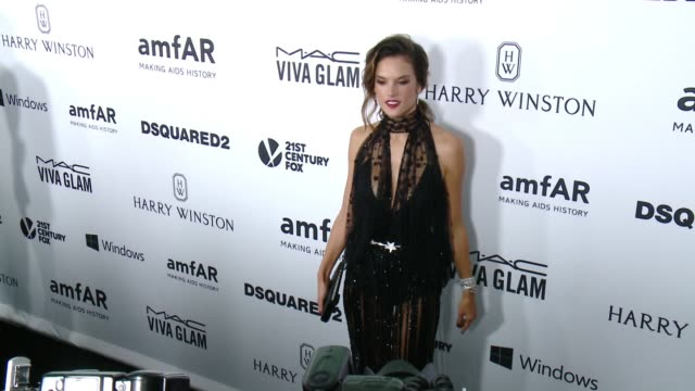 Alessandra Ambrosio at amfAR's Inspiration Gala Los Angeles 2015 in Los Angeles CA