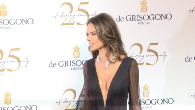 Alessandra Ambrosio at De Grisogono Party The 71st Annual Cannes Film Festival at Various Cannes on May 15 2018 in Cannes France