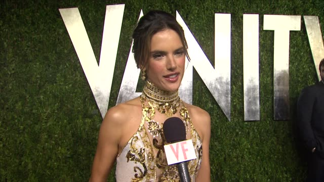 INTERVIEW Alessandra Ambrosio at The 2013 Vanity Fair Oscar Party Hosted By Graydon Carter INTERVIEW Alessandra Ambrosio at The 2013 Vanity at Sunset...