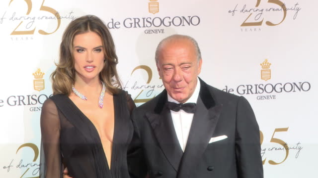 Alessandra Ambrosio Fawaz Gruosi at De Grisogono Party The 71st Annual Cannes Film Festival at Various Cannes on May 15 2018 in Cannes France