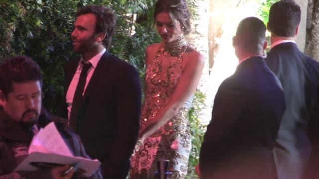 Alessandra Ambrosio Jamie Mazur depart the 2013 Vanity Fair Oscar Party in West Hollywood 02/24/13