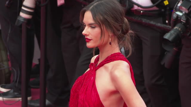 Alessandra Ambrosio on May 15 2019 in Cannes France