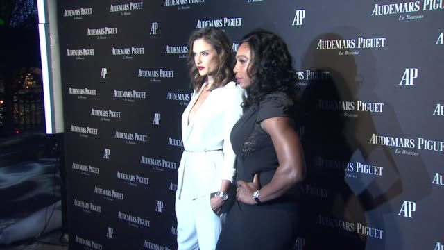 Alessandra Ambrosio Serena Williams at Audemars Piguet Celebrates The Grand Opening of Rodeo Drive Boutique in Los Angeles CA