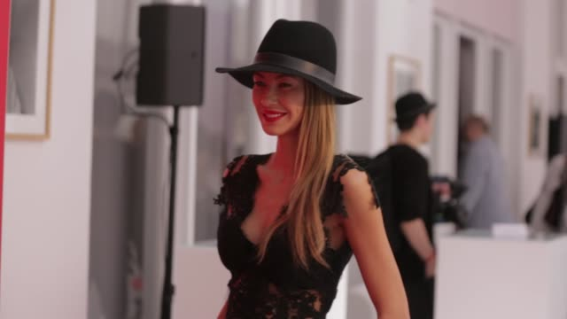 Alessandra MeyerWoelden attends the 'Gala' fashion brunch during the MercedesBenz Fashion Week Berlin Spring/Summer 2017 at Ellington Hotel on July...