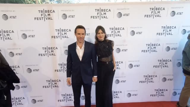 Alessandro Nivola and Emily Mortimer at the 'To Dust' Tribeca Film Festival at SVA Theatre on April 22 2018 in New York City