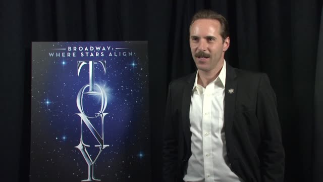 stockvideo's en b-roll-footage met alessandro nivola at 2015 tony awards meet the nominees reception at the paramount hotel on april 29, 2015 in new york city. - alessandro nivola