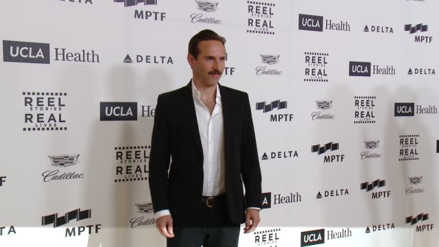 stockvideo's en b-roll-footage met alessandro nivola at 4th annual reel stories, real lives benefiting the motion picture & television fund at milk studios on april 25, 2015 in... - alessandro nivola