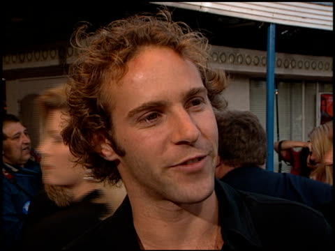 Alessandro Nivola at the Premiere of 'The Negotiator' at the Mann Village Theatre in Westwood California on July 22 1998