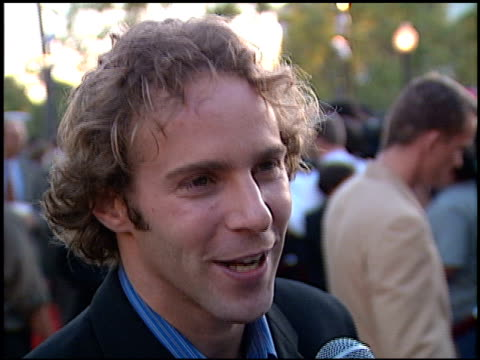 Alessandro Nivola at the 'Snake Eyes' Premiere at Paramount Theater in Hollywood California on July 30 1998