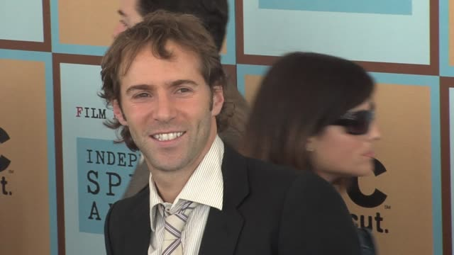 alessandro nivola at the the 21st annual ifp independent spirit awards in santa monica california on march 4 2006 - ifp independent spirit awards stock videos and b-roll footage