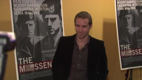 alessandro nivola at the 'the messenger' new york premiere at new york ny. - alessandro nivola stock videos & royalty-free footage