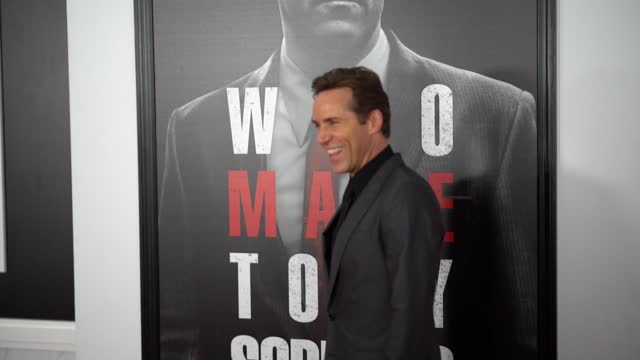 """stockvideo's en b-roll-footage met alessandro nivola attends the """"the many saints of newark"""" tribeca fall preview at beacon theatre on september 22, 2021 in new york city. - alessandro nivola"""