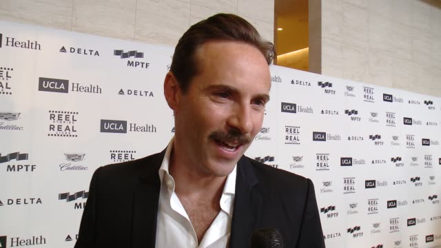 INTERVIEW Alessandro Nivola on his honoree and how this event brings Hollywood together at 4th Annual Reel Stories Real Lives Benefiting The Motion...