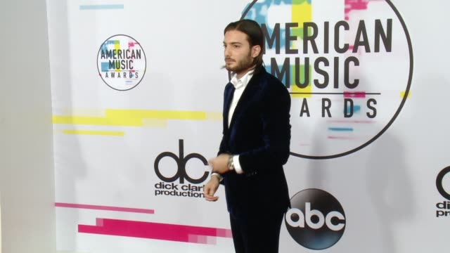 Alesso at 2017 American Music Awards on November 19 2017 in Los Angeles California