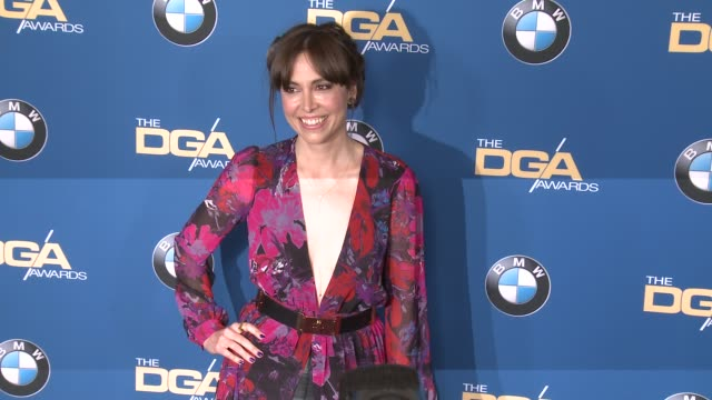 alethea jones at 69th annual directors guild of america awards in los angeles, ca 2/4/17 - director's guild of america stock videos & royalty-free footage