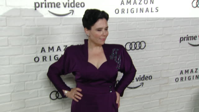 alex borstein at amazon prime video post emmy awards party 2019 at chateau marmont on september 22, 2019 in los angeles, california. - emmy awards stock-videos und b-roll-filmmaterial