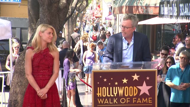 SPEECH Alex Gansa at Hollywood Walk Of Fame on September 24 2015 in Hollywood California