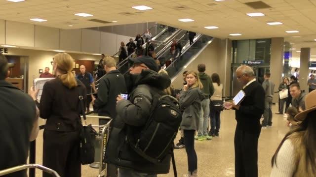 Alex Gibney arriving to the Sundance Film Festival at Salt Lake City Airport in Utah in Celebrity Sightings in Park City UT