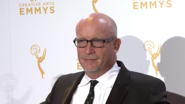 alex gibney at the 2015 creative arts emmy awards at microsoft theater on september 12 2015 in los angeles california - emmy awards stock-videos und b-roll-filmmaterial