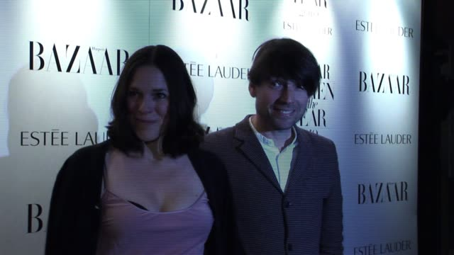 Alex James Claire James arrive for the Harper's Bazaar Awards Harper's Bazaar Women Of The Year Awards at One Mayfair on November 01 2010 in London