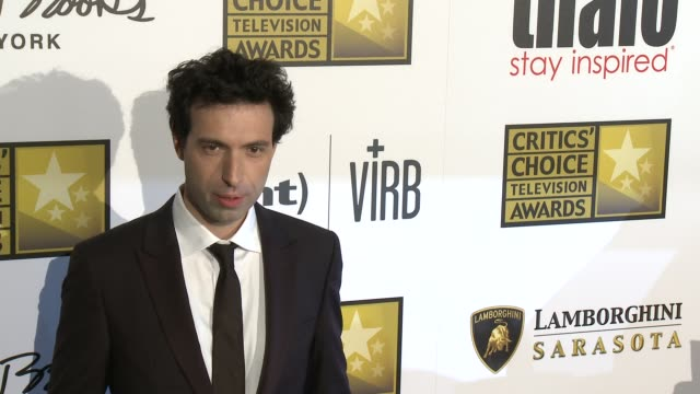 Alex Karpovsky at Broadcast Television Journalists Association's 3rd Annual Critics' Choice Television Awards on 6/10/2013 in Beverly Hills CA