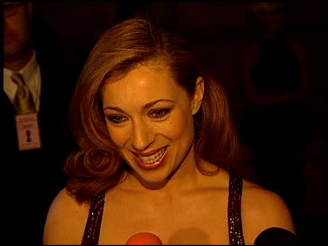 alex kingston at the 1999 people's choice awards at the pasadena civic auditorium in pasadena, california on january 10, 1999. - pasadena civic auditorium stock videos & royalty-free footage