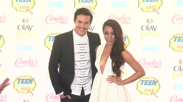 alex kinsey and sierra deaton at the teen choice awards 2014 at the shrine auditorium on august 10 2014 in los angeles california - shrine auditorium stock videos & royalty-free footage