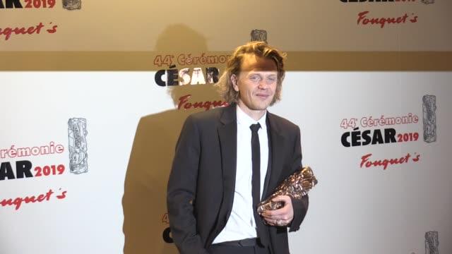 vidéos et rushes de alex lutz at cesar film awards 2019 at le fouquet s in paris paris, france 22nd february 2019 - cesar