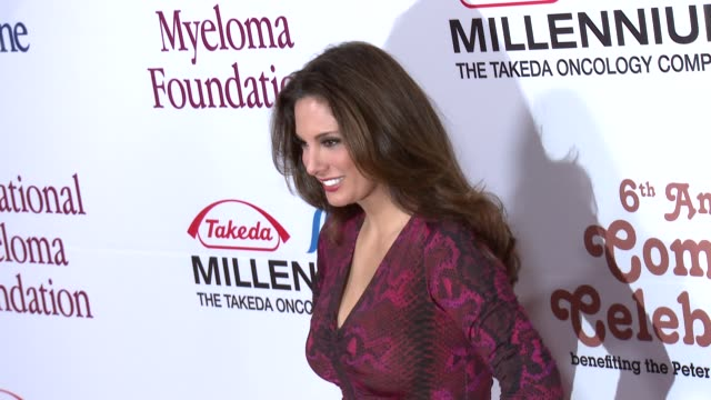alex meneses arrives at international myeloma foundation 6th annual comedy celebration benefiting the peter boyle research fund on 10/27/12 in los... - peter boyle stock videos & royalty-free footage