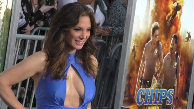 "alex meneses at the ""chips"" los angeles premiere at tcl chinese theatre on march 20, 2017 in hollywood, california. - tcl chinese theatre stock videos & royalty-free footage"