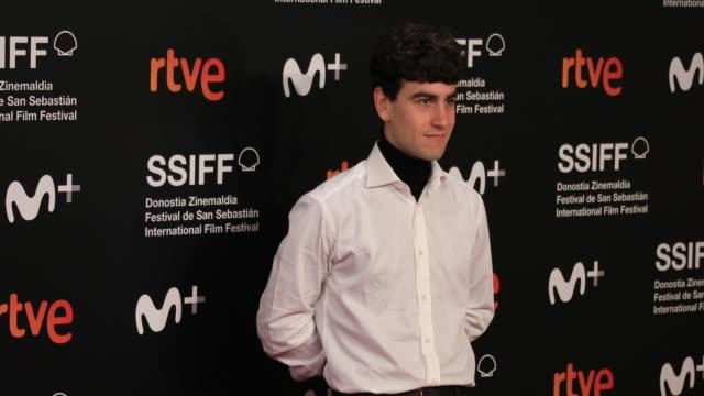 alex monner attends the 'la hija de un ladron ' premiere during the 67th san sebastian film festival in the northern spanish basque city of san... - hija stock videos & royalty-free footage