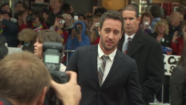 alex o'loughlin at the 'the backup plan' premiere at westwood ca - neckwear stock videos and b-roll footage