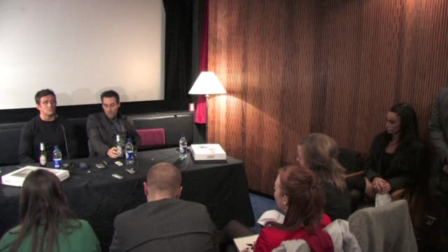 alex reid on the opportunities that may happen from celebrity big brother 7 at the celebrity big brother winner's press conference at borehamwood... - ボーハムウッド点の映像素材/bロール