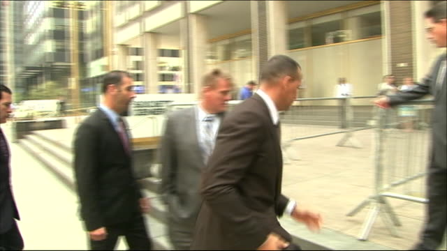 alex rodriguez arrives at an arbitration hearing. - healthcare and medicine or illness or food and drink or fitness or exercise or wellbeing stock videos & royalty-free footage