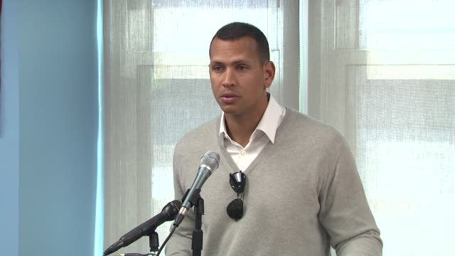 Alex Rodriguez is grateful for this tribute is glad to give back to the community especially so close to the stadium at the BronxLebanon Hospital...