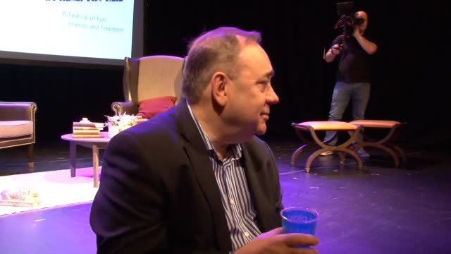 alex salmond believes scotland will be independent within four years and vowed to play whatever part is necessary in a second referendum campaign the... - alex salmond stock videos & royalty-free footage
