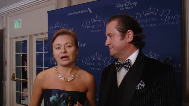 INTERVIEW Alex Solider on his relationship with the Princess Grace Foundation what inspired him to create the Prince Rainier III award why Dick Van...