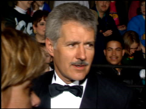 Alex Trebek at the 1995 People's Choice Awards at Universal Studios in Universal City California on March 5 1995