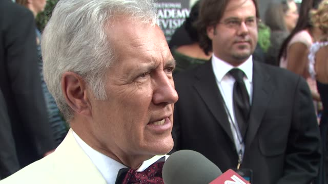 Alex Trebek at the 36th Annual Daytime Emmy Awards at Los Angeles CA