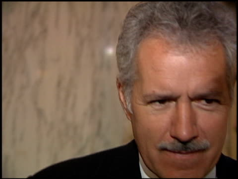 Alex Trebek at the Veteran of the Year Luncheon at the Regent Beverly Wilshire Hotel in Beverly Hills California on December 4 1998