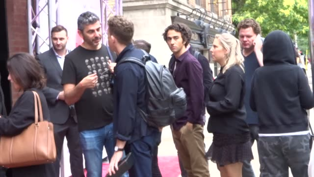 alex wolff and keir gilchrist spotted on day 2 of the 2019 toronto international film festival at celebrity sightings in toronto on september 06,... - toronto international film festival stock videos & royalty-free footage