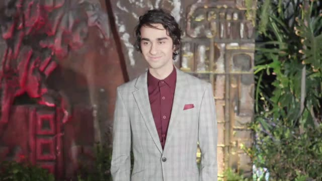 Alex Wolff at the 'Jumanji Welcome to the Jungle' Premiere at TCL Chinese Theatre on December 11 2017 in Hollywood California
